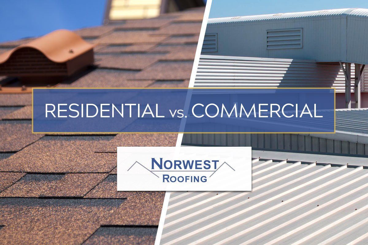 residential and commercial roofs
